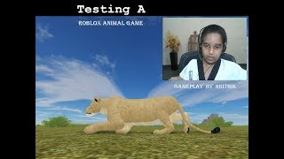 Testing A - Roblox Animal Game, Gameplay by Hrithik