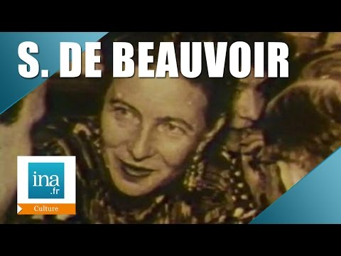 Simone de Beauvoir, une femme d'exception | Archive INA