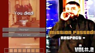 MINECRAFT MEMES + MISSION PASSED RESPECT + RECOPILACIÓN [VOL#.2]