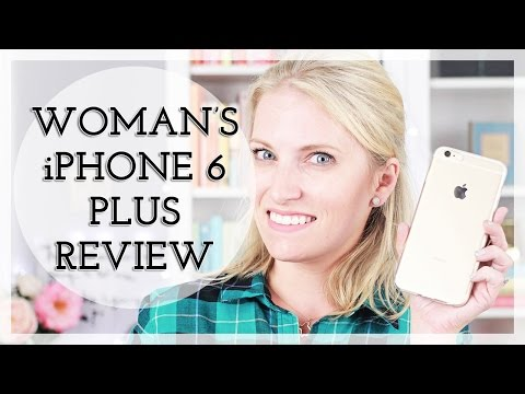 Tech Talk: Woman's Apple iPhone 6 Plus Review!