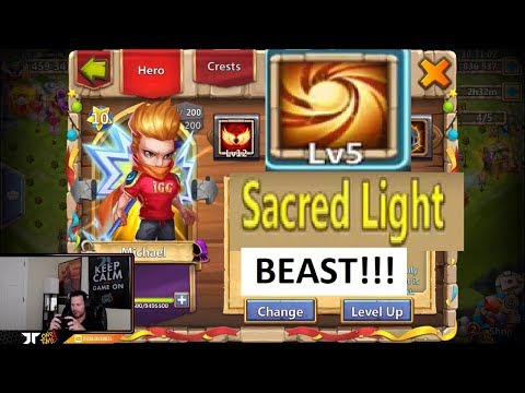 JT's Main Guild Wars 5300+ Score BEAST Michael OH BOY Castle Clash