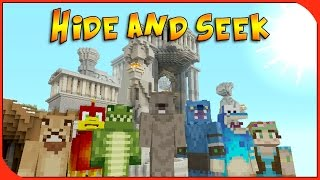Minecraft Xbox - Hide and Seek - Greek Olympus