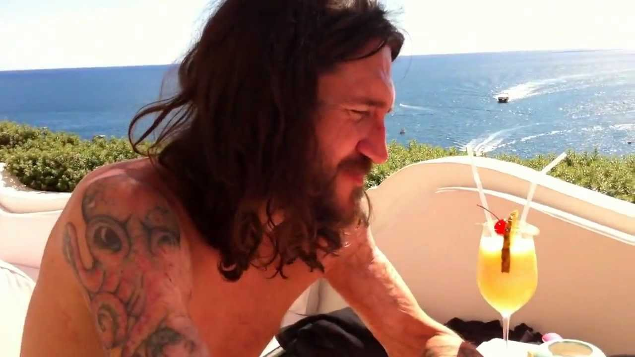 John Frusciante And Nicole Turley Italy Positano 2010