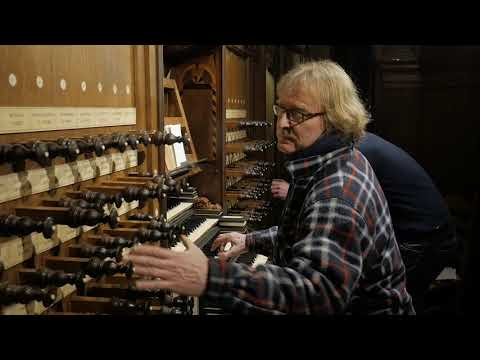 Improvisation Toon Hagen Schnitgerorgan Zwolle, The Netherlands | Improvisatie Door Toon Hagen