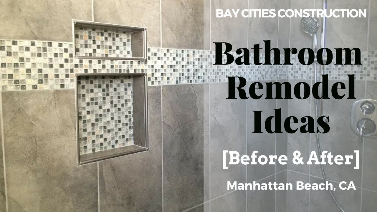 Bathroom Remodel Ideas Small Bathroom Remodel In Manhattan Beach