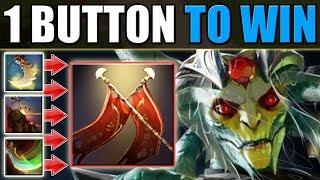 "1 Button Dota [Press ""R"" - gain Duel Damage] Ability Draft"