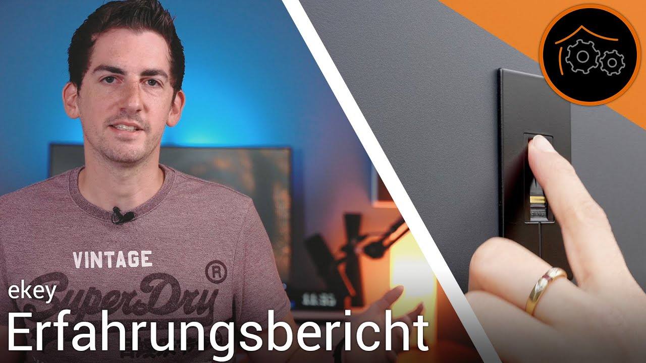 Zutritt per Fingerabdruck - Erfahrungsbericht nach 1 Jahr im Alltag   haus-automatisierung.com [4K]