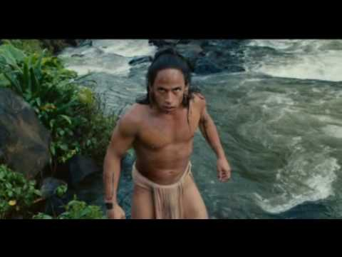 Apocalypto - Jaguar Paw introduces himself to an audience of  people who want him dead!