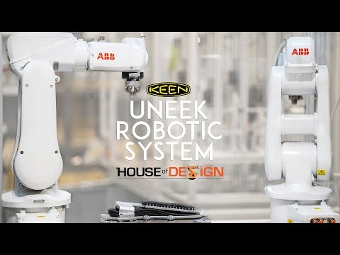KEEN UneekBot Robotic System At House Of Design Robotics
