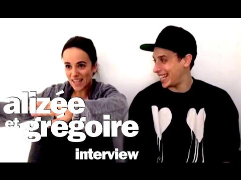 Alizée & Grégoire Lyonnet - Interview live Facebook - 1er février 2017