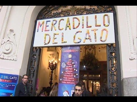 Vuelve el mercadillo del gato a madrid youtube - Mercadillo antiguedades madrid ...