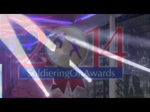 Joe McElderry - Soldiering On Awards 2014 - The Full Set