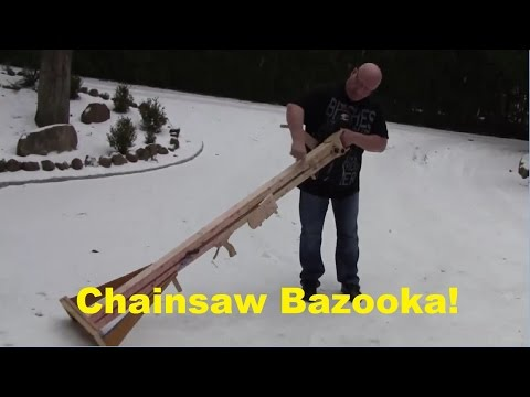Reupload: Shooting Chainsaws With The Slingshot