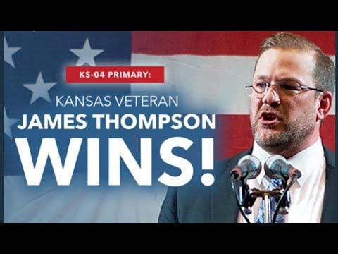 James Thompson WINS Kansas Primary