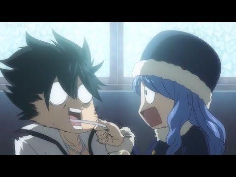 Fairy Tail OVA - Juvia tries to spoon-feed Gray