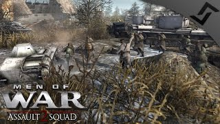 8v8 Game-Breaking CHARGES - Robz Mod - Men of War: Assault Squad 2 Multiplayer Gameplay