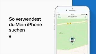 """So verwendest du """"Mein iPhone suchen"""" — Apple Support"""