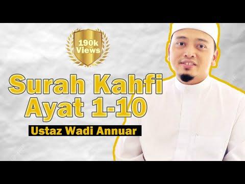 Ustaz Wadi Anuar Bacaan Surah Al Kahfi Ayat 1-10 | Pelindung Fitnah Dajjal (dengan Terjemahan)