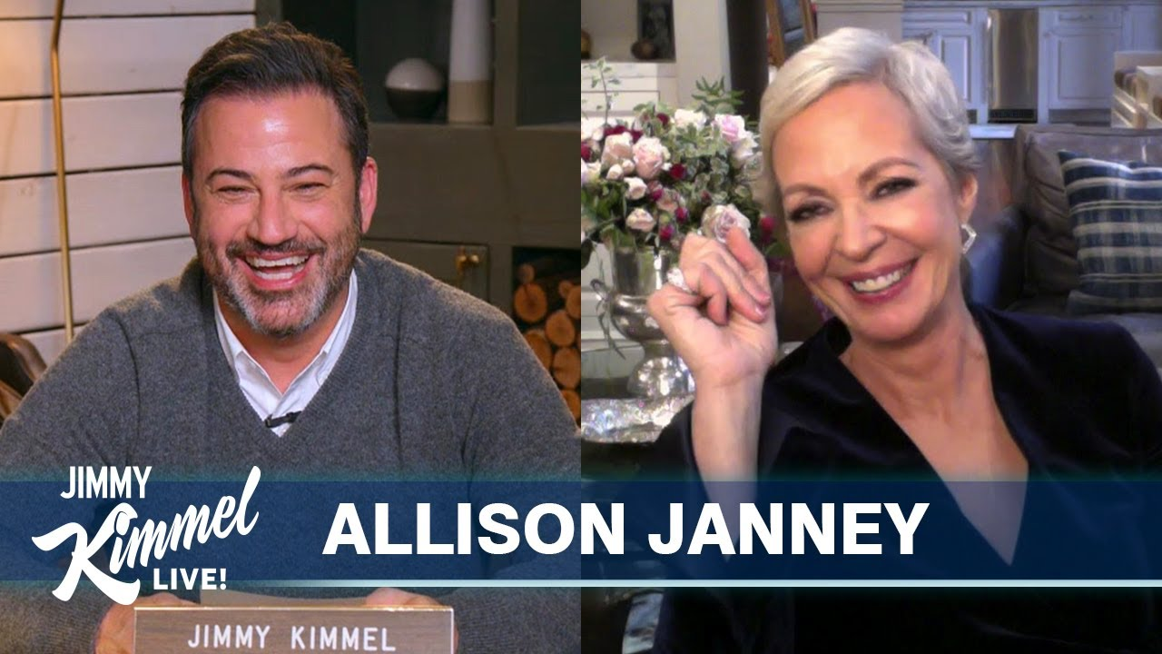 Allison Janney Says Co-Star Made Her Put Neosporin on Lips Pre-Kiss - E! Online