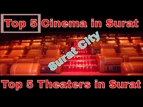 Top 5 Theaters in Surat  Top 5 Cinema in Surat  Surat city