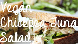 "Easy Vegan Chickpea ""tuna"" Salad Recipe"