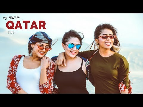 QATAR VLOG - PART 1 (AN OCEAN RIGHT IN THE MIDDLE OF A DESERT, SHOPPING AND MORE!!)