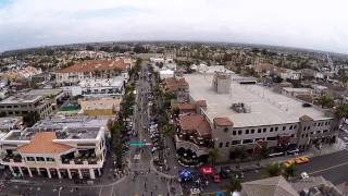 Factory Five HB show 2015 from the air!