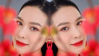 Tết cùng Quách Ánh 🌸 Lunar New Year Makeup [ Engsub]