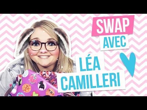 SWAP - LOLA DUBINI OUVRE LES CADEAUX DE LÉA CAMILLERI !