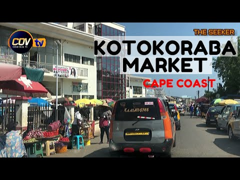 $31.75 million ultra-modern Cape Coast Kotokoraba Market via Mfantipim, Adisadel, and Pedu Junction.
