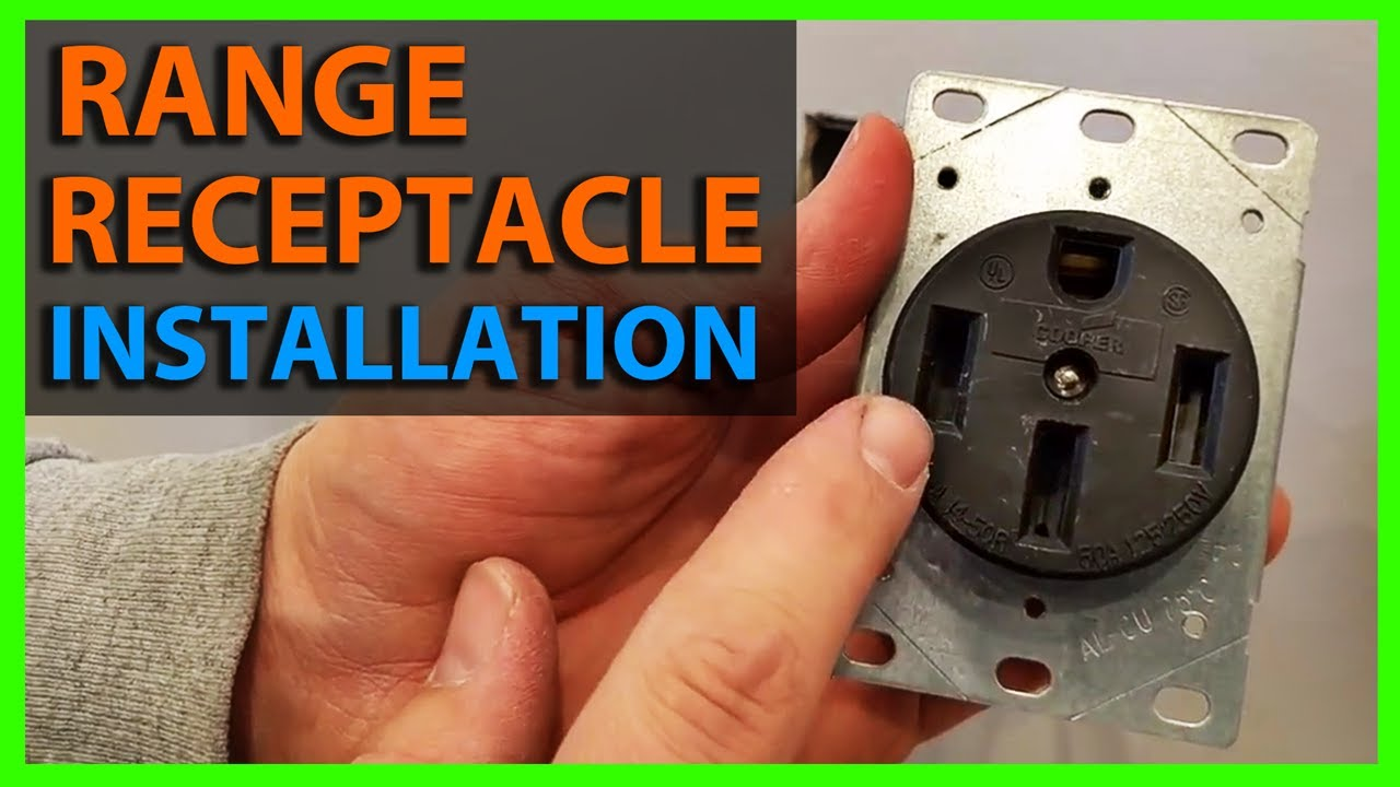 Wiring diagram for electric stove outlet free download wiring how to install a range receptacle or outlet flush mount 50 4 free download wiring diagram asfbconference2016 Image collections