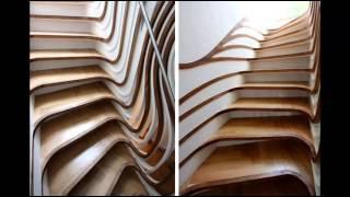 Лестницы в современном доме(Лестница в доме всегда привлекает внимание. И правильно сконструированная лестница станет настоящим элеме..., 2015-01-04T11:37:56.000Z)