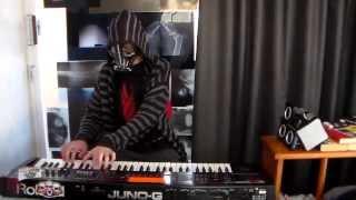 Treacherous Gods - Ensiferum, keyboard cover