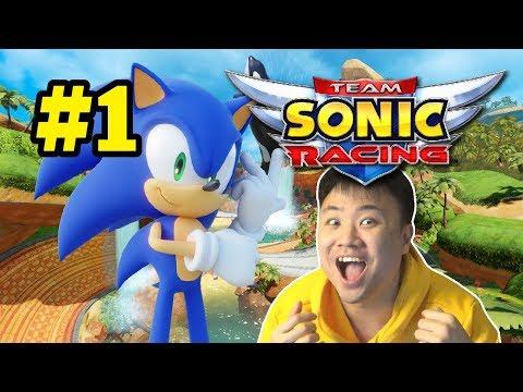 BOSEN LARI !! 2019 SONIC NAIK MOBIL LAGI !! - Team Sonic Racing [Indonesia] PS4 #1