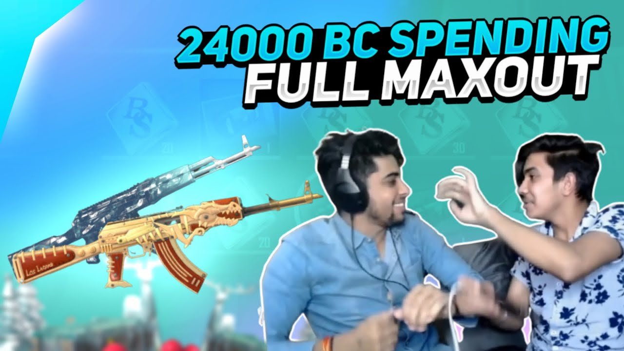 PUBG MOBILE LITE AKM MAXOUT CRATE OPENING | SUPER LUCKY😍 |  24000 BC SPENDING