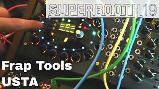 Superbooth 2019: Frap Tools USTA 4 Track Sequencer