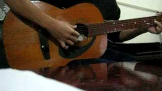 Bong hong thuy tinh (The wall) guitar