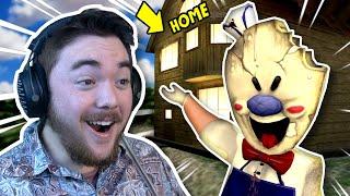 Rod Brought Us INSIDE HIS HOUSE!!! (+New Cutscene)   Ice Scream Mobile Horror (Mods)