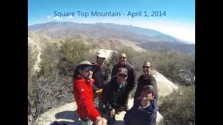 Square Top Mountain Hike - April 1, 2014
