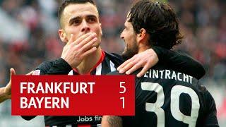 Frankfurt vs Bayern Munich (5-1) | Bundesliga Highlights