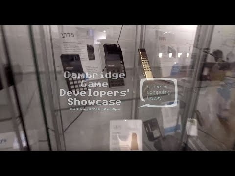 Cambridge Game Developers' Showcase
