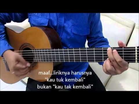 Download Belajar Kunci Gitar Naff Kenanglah Aku Strumming ...