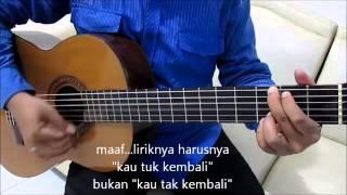 Belajar Kunci Gitar Naff Kenanglah Aku Strumming Mudah