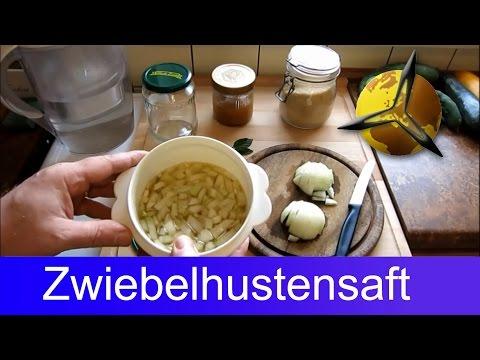 Zwiebelhustensaft: Zwiebelsaft gegen Husten selber machen