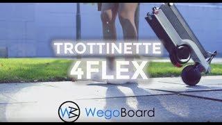 La plus petite Trottinette Electrique du monde - 4Flex by Wegoboard