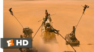 Mad Max: Fury Road - Harpoon and Pole Battle Scene (8/10) | Movieclips