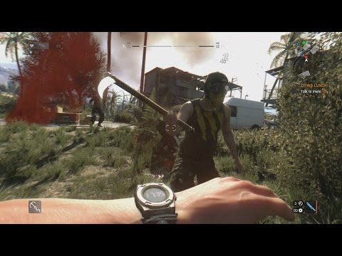 The combat in Dying Light - more realistic than expected!