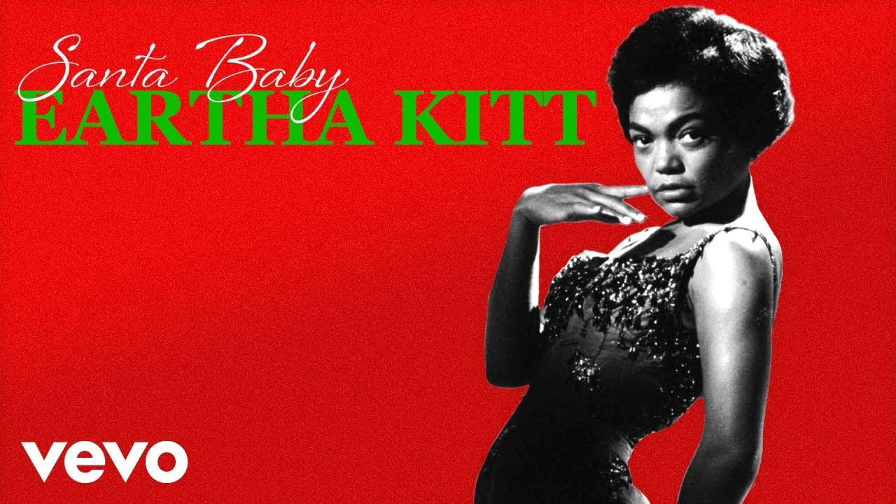 eartha-kitt-santa-baby-audio-earthakittvevo