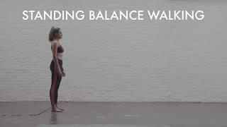 Standing Balance Walking | Balance Exercises | Glute Strength | Ankle Strengthening Exercises