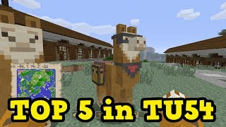 Minecraft Xbox One / PS4 Top 5 TU54 Features